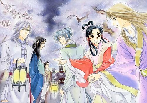 Kairi Yura, Madhouse, Saiunkoku Monogatari, Saiunkoku Monogatari Illustrations, Shungai Sou