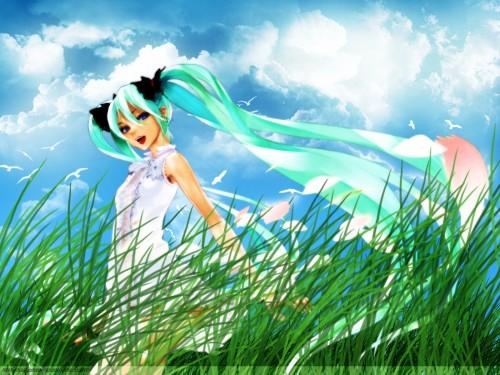 redjuice, Vocaloid, Miku Hatsune Wallpaper