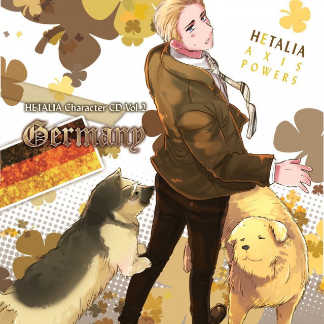 Hidekaz Himaruya, Studio DEEN, Hetalia: Axis Powers, Germany