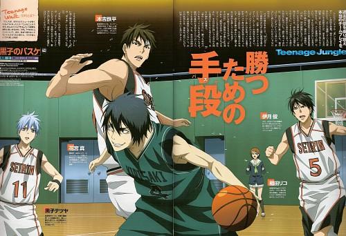 Tadatoshi Fujimaki, Production I.G, Kuroko no Basket, Riko Aida, Tetsuya Kuroko