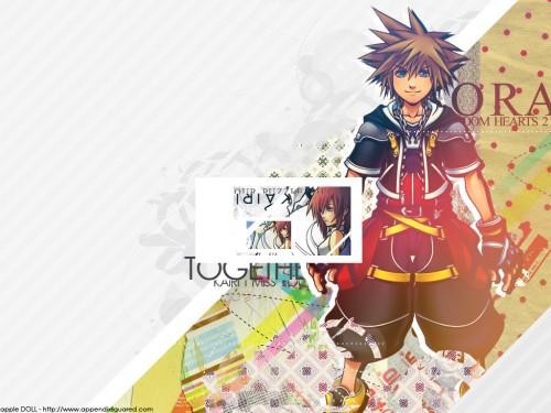 Square Enix, Kingdom Hearts, Kairi, Sora Wallpaper