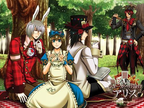 Soumei Hoshino, QuinRose, Heart no Kuni no Alice, Joker (Heart no Kuni no Alice), Alice Liddel (Heart no Kuni no Alice)