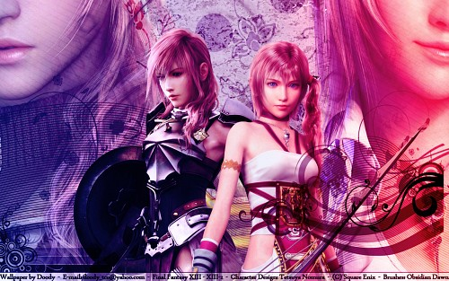 Square Enix, Final Fantasy XIII, Serah Farron, Lightning (FF XIII) Wallpaper