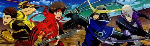 Production I.G, Capcom, Sengoku Basara, Yukimura Sanada, Mitsunari Ishida (Sengoku Basara)