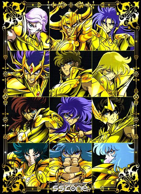 Masami Kurumada, Toei Animation, Saint Seiya, Cancer DeathMask, Virgo Shaka