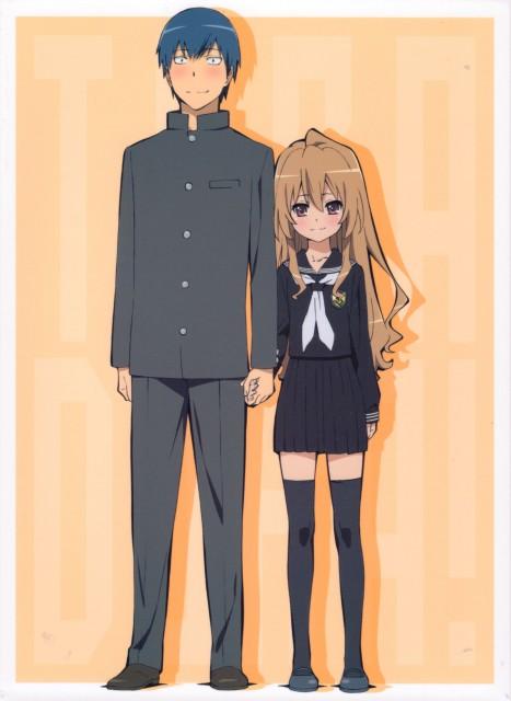 Toradora!, Ryuuji Takasu, Taiga Aisaka