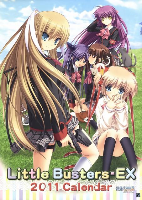 Key (Studio), Little Busters, Saya Tokido, Komari Kamikita, Rin Natsume