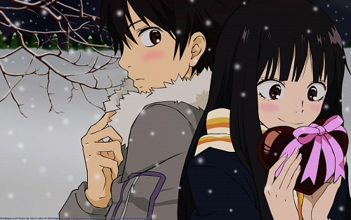 Production I.G, Kimi ni Todoke, Shouta Kazehaya, Sawako Kuronuma, Vector Art Wallpaper