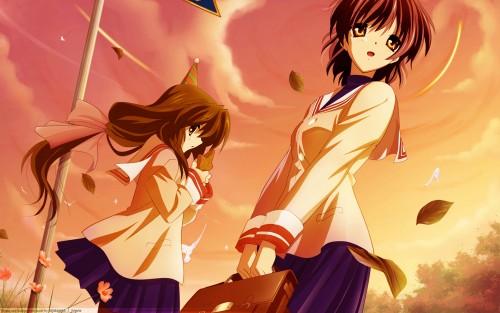 Kyoto Animation, Clannad, Nagisa Furukawa, Fuko Ibuki Wallpaper
