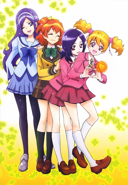 Futago Kamikita, Fresh Precure!, Futago Kamikita All Precure Illustration Collection, Miki Aono, Love Momozono