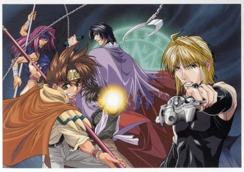 Kazuya Minekura, Studio Pierrot, Saiyuki, Sha Gojyo, Son Goku (Saiyuki)