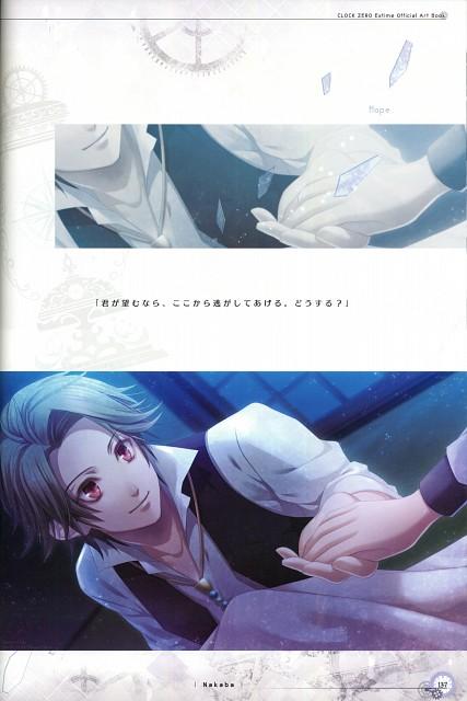 Nagaoka, Idea Factory, Clock Zero Official Visual Fan Book, Clock Zero, Journalist (Clock Zero)