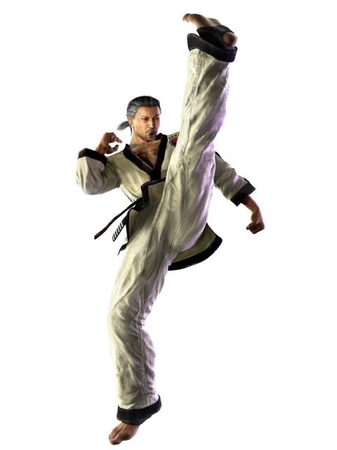 Namco, Tekken, Baek Do San, Official Digital Art