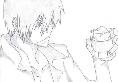 Akira Amano, Katekyo Hitman Reborn!, Xanxus, Member Art