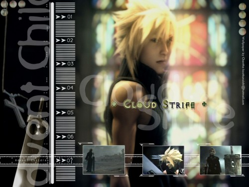 Square Enix, Final Fantasy VII: Advent Children, Cloud Strife, Occupations Wallpaper