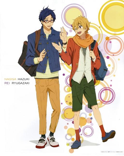 Kyoto Animation, Free!, Rei Ryuugazaki, Nagisa Hazuki