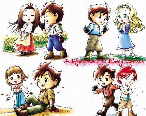 Victor Entertainment, Harvest Moon, Nami (Harvest Moon), Muffy, Celia (Harvest Moon) Wallpaper