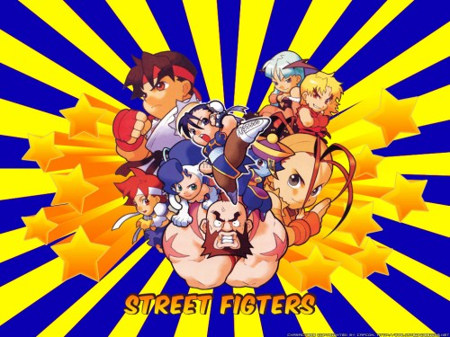 Capcom, Rival Schools, Street Fighter, Dark Stalkers, Zangief Wallpaper
