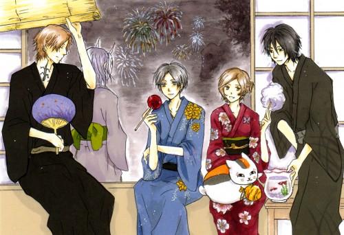 Yuki Midorikawa, Natsume Yuujin-Chou, Shuuichi Natori, Tooru Taki, Nyanko-sensei