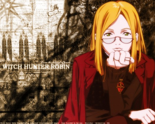 Sunrise (Studio), Witch Hunter Robin, Robin Sena Wallpaper