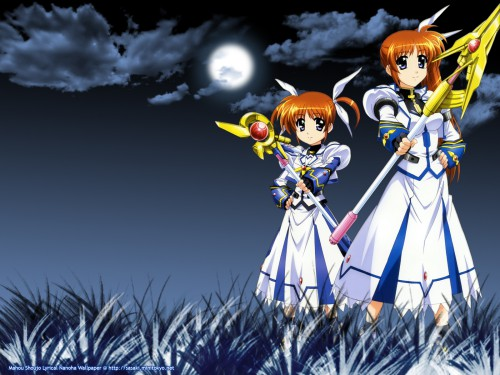 Seven Arcs, Mahou Shoujo Lyrical Nanoha StrikerS, Nanoha Takamachi Wallpaper