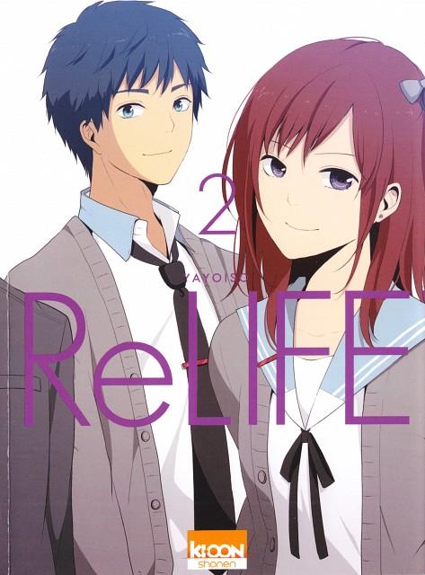 TMS Entertainment, ReLIFE, Rena Kariu, Manga Cover