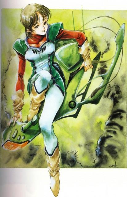 Haruhiko Mikimoto, Artland, Mobile Suit Gundam - Universal Century, Choujikuu Seiki Orguss