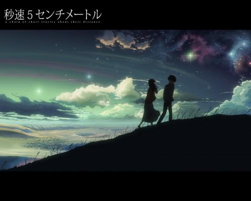 Makoto Shinkai, Five Centimeters Per Second, Takaki Tohno, Akari Shinohara