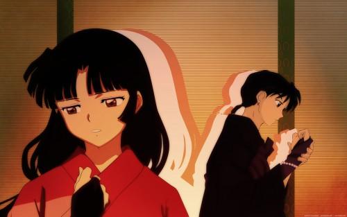 Rumiko Takahashi, Sunrise (Studio), Inuyasha, Miroku, Sango Wallpaper