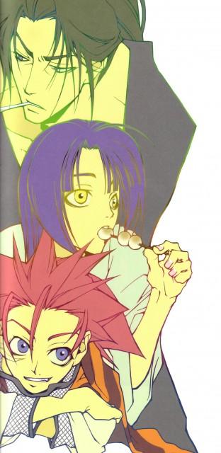 Nanae Chrono, Peacemaker Kurogane, Souji Okita (Peacemaker Kurogane), Toshizou Hijikata (Peacemaker Kurogane), Tetsunosuke Ichimura