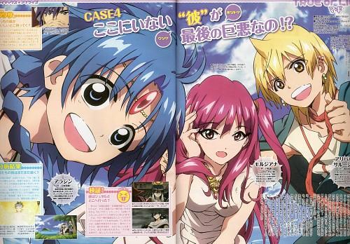 Shinobu Ohtaka, A-1 Pictures, MAGI: The Labyrinth of Magic, Alibaba Saluja, Morgiana