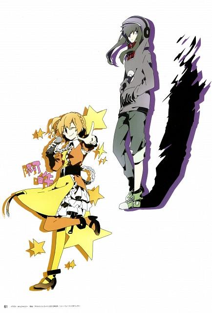 Wannyanpu, Kagerou Days, Kagerou Days Official Visual Fan Book, Momo Kisaragi, Tsubomi Kido