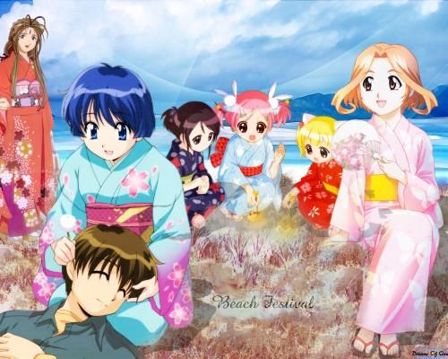 Ai Yori Aoshi, Pita Ten, Ah! Megami-sama, Belldandy, Shia Wallpaper