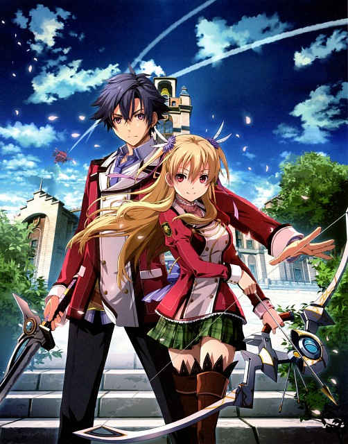 Falcom, The Legend of Heroes: Sen no Kiseki Official Visual Collection, The Legend of Heroes: Zero no Kiseki, Rean Schwarzer, Alisa Reinford