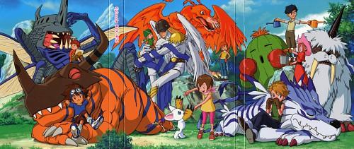 Toei Animation, Digimon Adventure, Koushirou Izumi, Takeru Takaishi, Mimi Tachikawa
