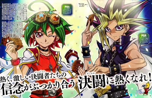 Kazuki Takahashi, Studio Gallop, Yu-Gi-Oh ARC-V, Yu-Gi-Oh Duel Monsters, Yuya Sakaki