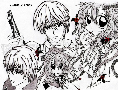 Arina Tanemura, Matsuri Hino, Shinshi Doumei Cross, Vampire Knight, Haine Otomiya