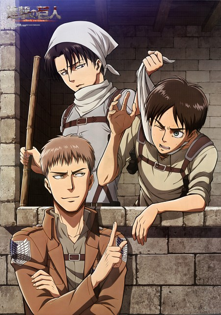 Hajime Isayama, Production I.G, Shingeki no Kyojin, Levi Ackerman, Jean Kirschstein