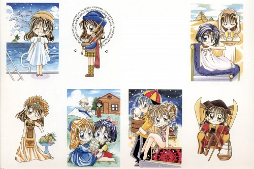 Arina Tanemura, Kamikaze Kaitou Jeanne, Kamikaze Kaitou Jeanne Artbook, Miyako Todaiji, Maron Kusakabe