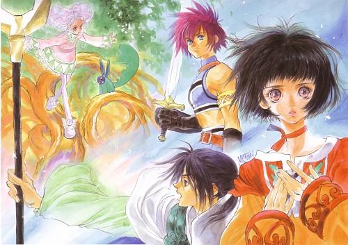 Mutsumi Inomata, Xebec, Namco, Tales of Eternia, Farah Oersted