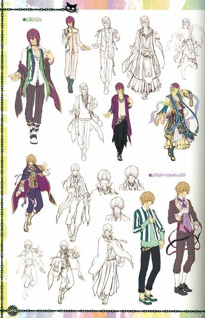 Yasutake Kawahito, Idea Factory, KLAP - Official Visual Fanbook, KLAP!!, Akito Suruga