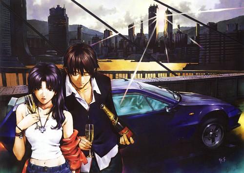 Yoshiyuki Sadamoto, Gainax, Neon Genesis Evangelion, Die Sterne, Carmine