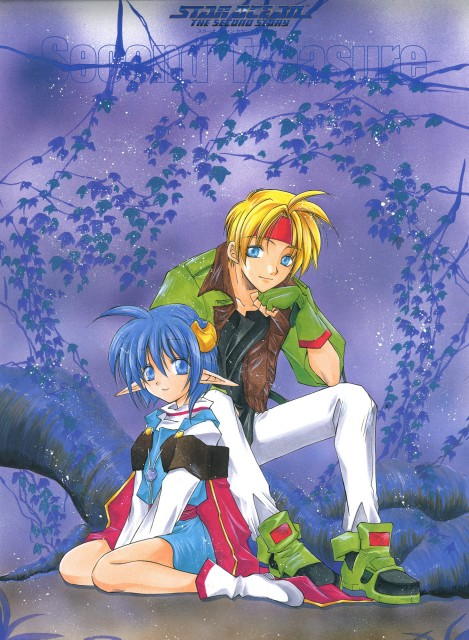 Star Ocean The Second Story, Rena Lanford, Claude C. Kenny