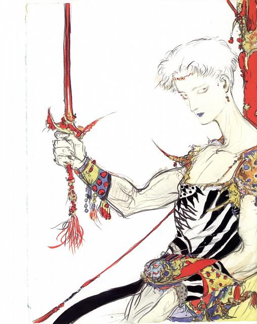 Yoshitaka Amano, Final Fantasy Japan, Bartz Klauser
