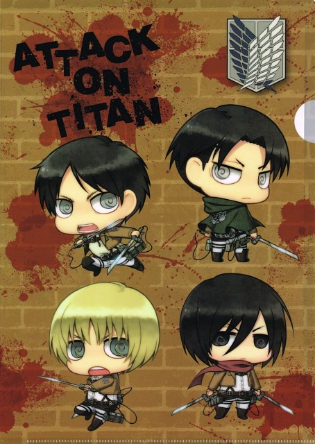 Yuupon, Production I.G, Shingeki no Kyojin, Eren Yeager, Armin Arlert