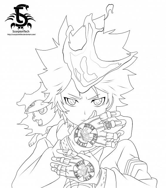 Akira Amano, Katekyo Hitman Reborn!, Tsunayoshi Sawada, Natsu (KHR), Vector Art