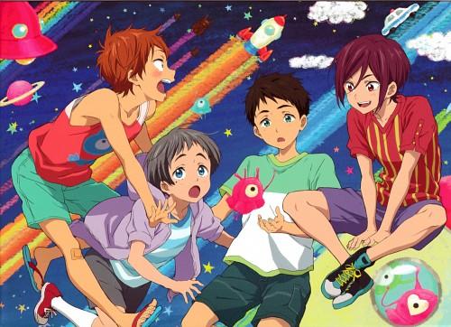 Kyoto Animation, Free!, Aiichiro Nitori, Rin Matsuoka, Momotarou Mikoshiba