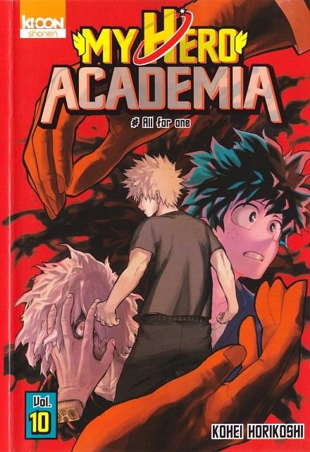 Kouhei Horikoshi, Boku no Hero Academia, Izuku Midoriya, Manga Cover