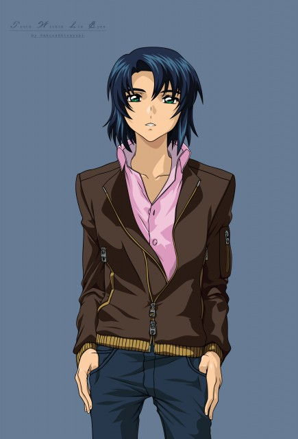 Sunrise (Studio), Mobile Suit Gundam SEED Destiny, Athrun Zala, Vector Art