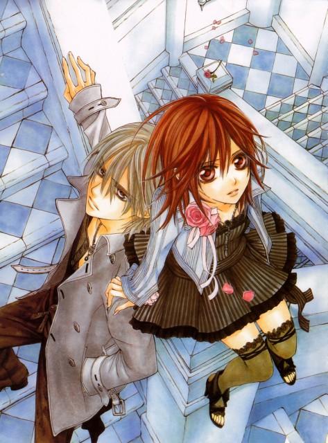 Matsuri Hino, Studio Deen, Vampire Knight, Hino Matsuri Illustrations Vampire Knight, Zero Kiryuu